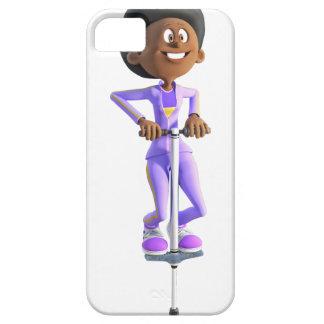 Capa Para iPhone 5 Menina do afro-americano dos desenhos animados que