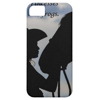 Capa Para iPhone 5 Menina que beija o cavalo