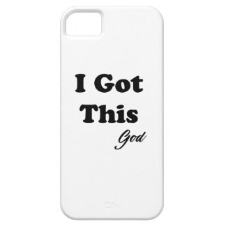 Capa Para iPhone 5 Mensagem do deus