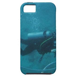 Capa Para iPhone 5 Mergulhador de mergulhador de Havaí