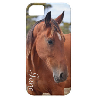 Capa Para iPhone 5 Monograma do cavalo
