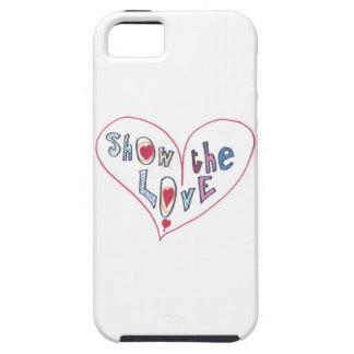 Capa Para iPhone 5 Mostre o amor