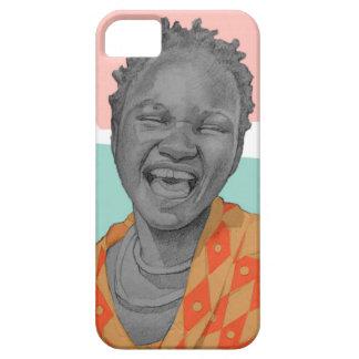 Capa Para iPhone 5 mulher africana
