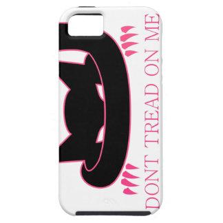 Capa Para iPhone 5 NÃO PISE em MIM o gatinho
