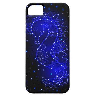 Capa Para iPhone 5 natações do cavalo de mar nas luzes