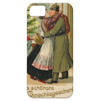 Capa Para iPhone 5 Natal alemão do soldado do vintage retro