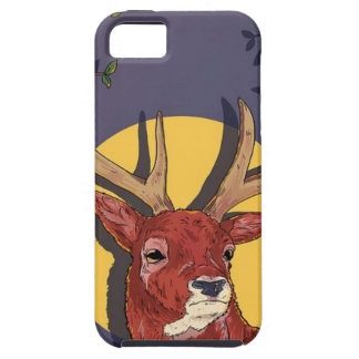 Capa Para iPhone 5 Natal dos Antlers da rena