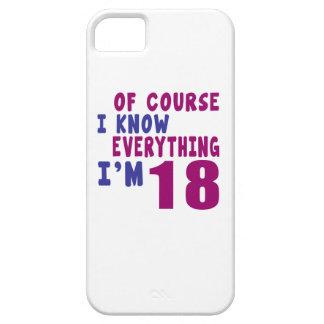 Capa Para iPhone 5 Naturalmente eu sei que tudo eu sou 18