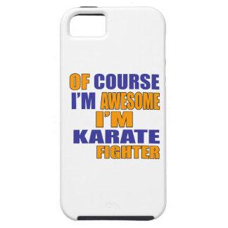 Capa Para iPhone 5 Naturalmente eu sou lutador do karaté