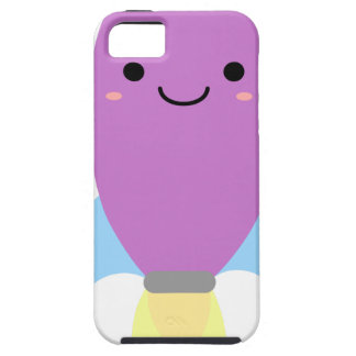 Capa Para iPhone 5 Navio roxo bonito de Rocket
