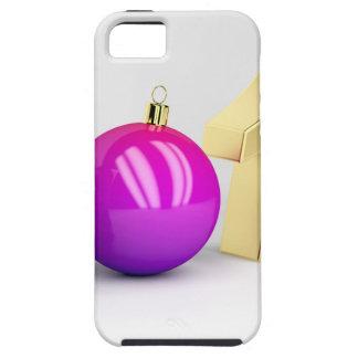 Capa Para iPhone 5 Número 2018 com bola do Natal