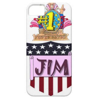 Capa Para iPhone 5 Número um Jim
