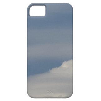 Capa Para iPhone 5 Nuvens brancas macias contra o fundo do céu azul