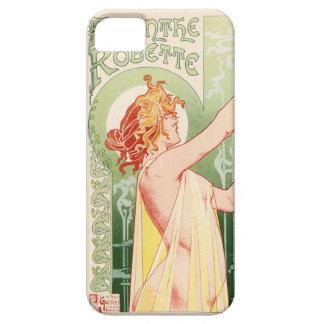 Capa Para iPhone 5 O absinto Robette - poster vintage do álcool