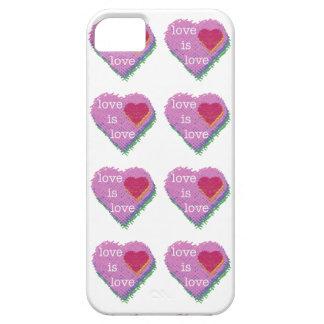 Capa Para iPhone 5 O amor é SE do iPhone do coração do amor + caso
