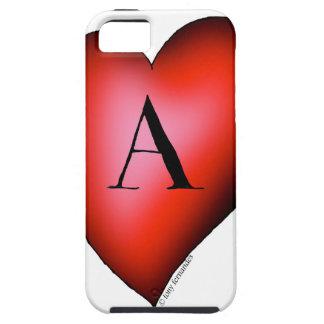 Capa Para iPhone 5 O ás de corações por Tony Fernandes