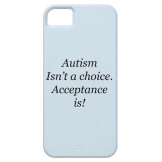 Capa Para iPhone 5 O autismo não é uma escolha