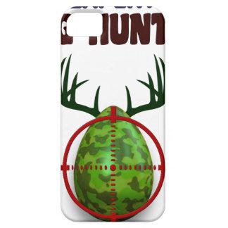 Capa Para iPhone 5 O caçador perito da páscoa, cervo do ovo visa o