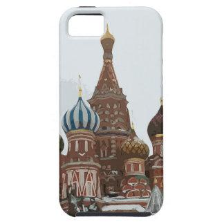 Capa Para iPhone 5 O cathedral_russo da manjericão do santo