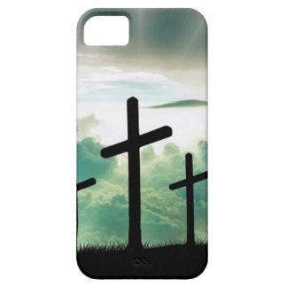Capa Para iPhone 5 O deus transversal Jesus da fé do cristo nubla-se