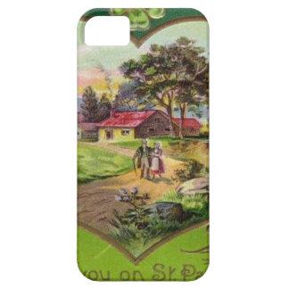 Capa Para iPhone 5 O dia retro de St Patrick do irlandês do vintage