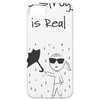 Capa Para iPhone 5 O esforço da falha do guarda-chuva é real
