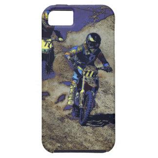 Capa Para iPhone 5 O estiramento da casa! - Piloto do motocross