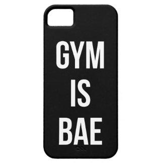Capa Para iPhone 5 O Gym é Bae - exercício engraçado inspirado