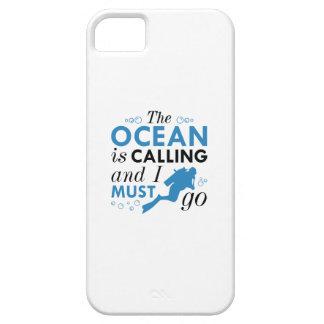 Capa Para iPhone 5 O oceano está chamando