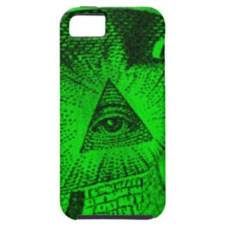 Capa Para iPhone 5 O olho de Illuminati