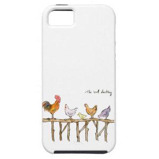 Capa Para iPhone 5 O patinho, as galinhas e o patinho perdidos
