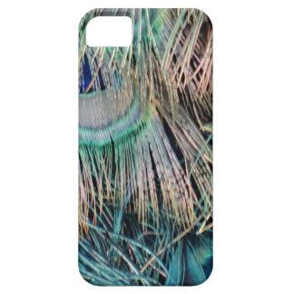 Capa Para iPhone 5 O pavão empluma-se o verde e o azul de Tan