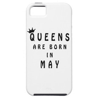 Capa Para iPhone 5 O Queens é nascido em maio