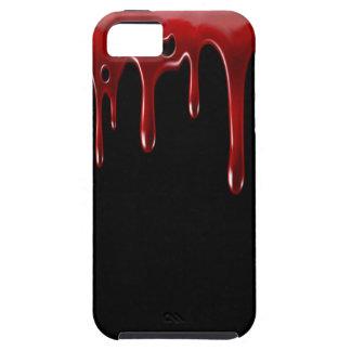 Capa Para iPhone 5 O sangue de Falln goteja o preto
