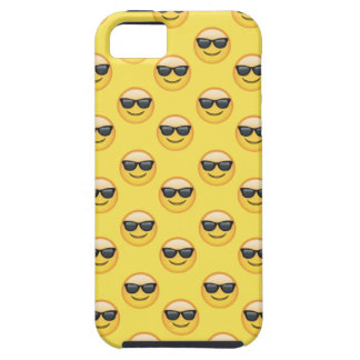 Capa Para iPhone 5 Óculos de sol legal Emoji das máscaras