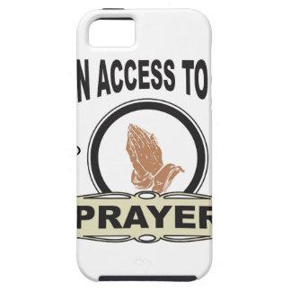 Capa Para iPhone 5 oração do acesso aberto