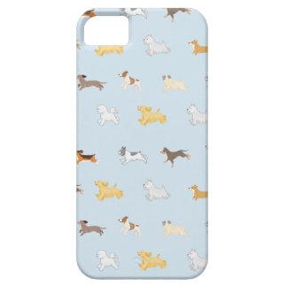 Capa Para iPhone 5 Os cães Running ilustraram o caso do telemóvel