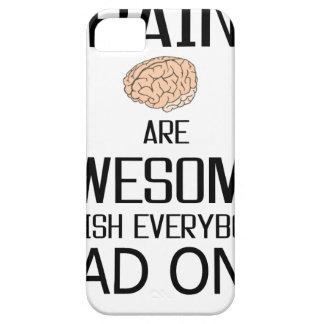 Capa Para iPhone 5 Os cérebros são impressionantes