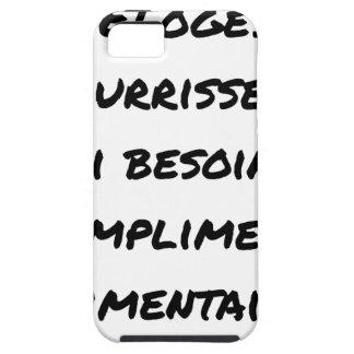CAPA PARA iPhone 5 OS ELOGIOS ME ALIMENTAM, TENHO NECESSIDADE