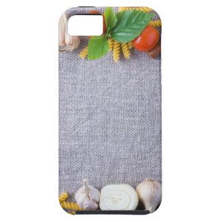 Capa Para iPhone 5 Os ingredientes de comida são instalados como um