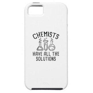 Capa Para iPhone 5 Os químicos têm todas as soluções