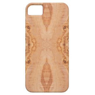 Capa Para iPhone 5 Padrões de superfície de madeira verde-oliva da