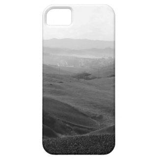 Capa Para iPhone 5 Paisagem de Toscânia do inverno com campos arados