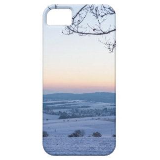 Capa Para iPhone 5 Paisagem do inverno em Alemanha na manhã
