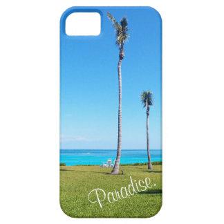 Capa Para iPhone 5 Paisagem do oceano e da palma