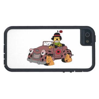 Capa Para iPhone 5 Palhaço no carro