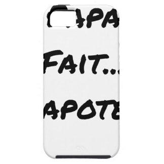 Capa Para iPhone 5 PAPAUTÉ FAZ TAGARELAR - Jogos de palavras