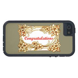 Capa Para iPhone 5 Parabéns 2