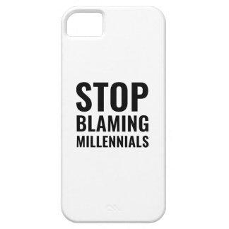 Capa Para iPhone 5 Pare de responsabilizar Millennials