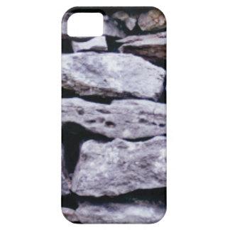 Capa Para iPhone 5 parede empilhada da rocha